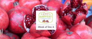 What's coming next week AND how to deseed a pomegranate in 30 seconds!
