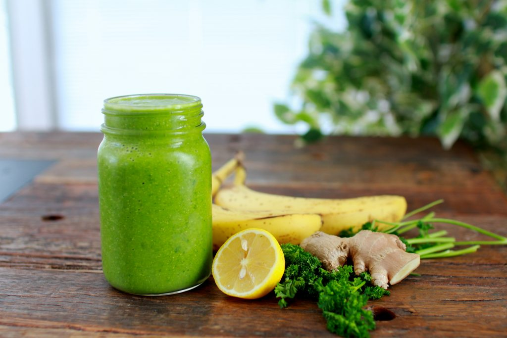Mmm! Shana Moore's spicy green smoothie. -Spicy green smoothie recipe