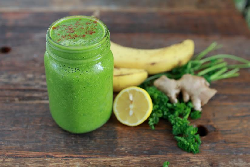 Shana Moore's Spicy Green Smoothie Recipe